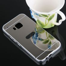 Buy TUKE Luxury Acrylic Aluminum Metal Frame + PC Mirror Case HTC One M9 PC Back Cover Thin Mobile Back Phone Cover for $4.09 in AliExpress store