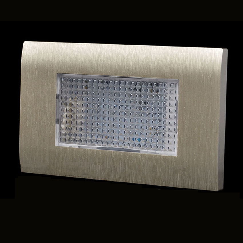 New Led Stair Light Embedded Led Footlights Step Wall Lamp