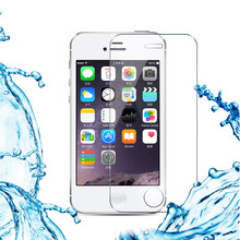 4S ! HD Tempered Glass Tempered Glass Screen Protector For apple iPhone 4 4S Mobile Phone Accessories Front protective film