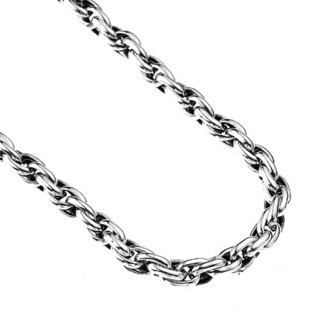 925 Pure Silver Necklace Male Chain Men's Link Men Long Body Jewelry CHoker