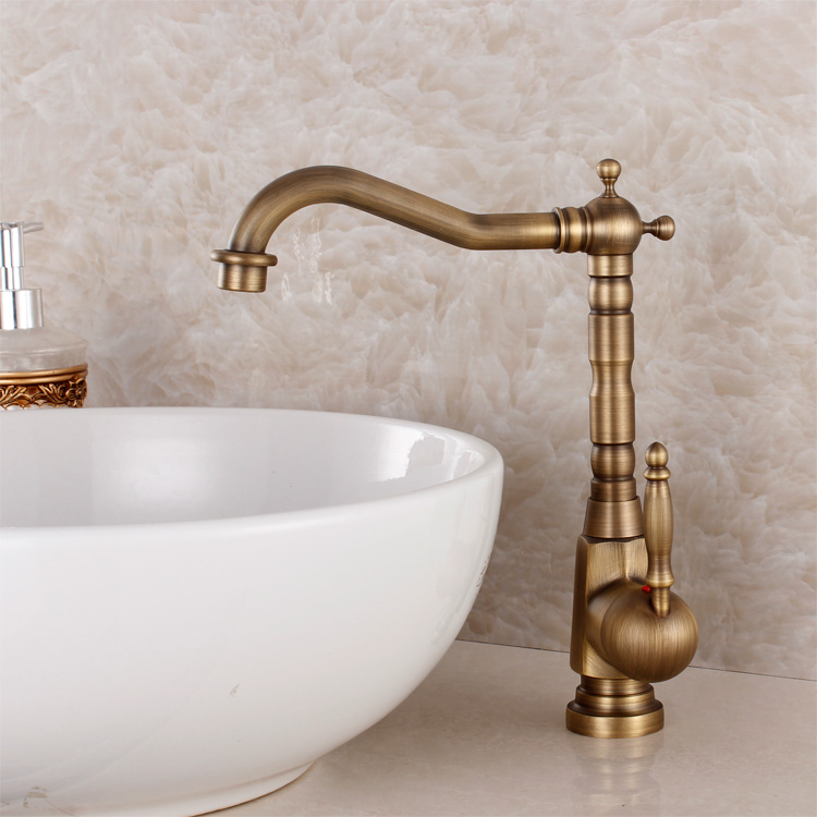 Aliexpress.com : Buy Fashion Bronze Faucet Antique Kitchen