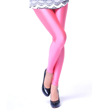 New spring 2014 Solid candy Neon leggings for women High Stretched sports legging pants fitness clothing