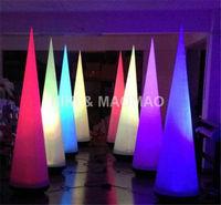 для ночной клуб надувные конус с led подсветкой