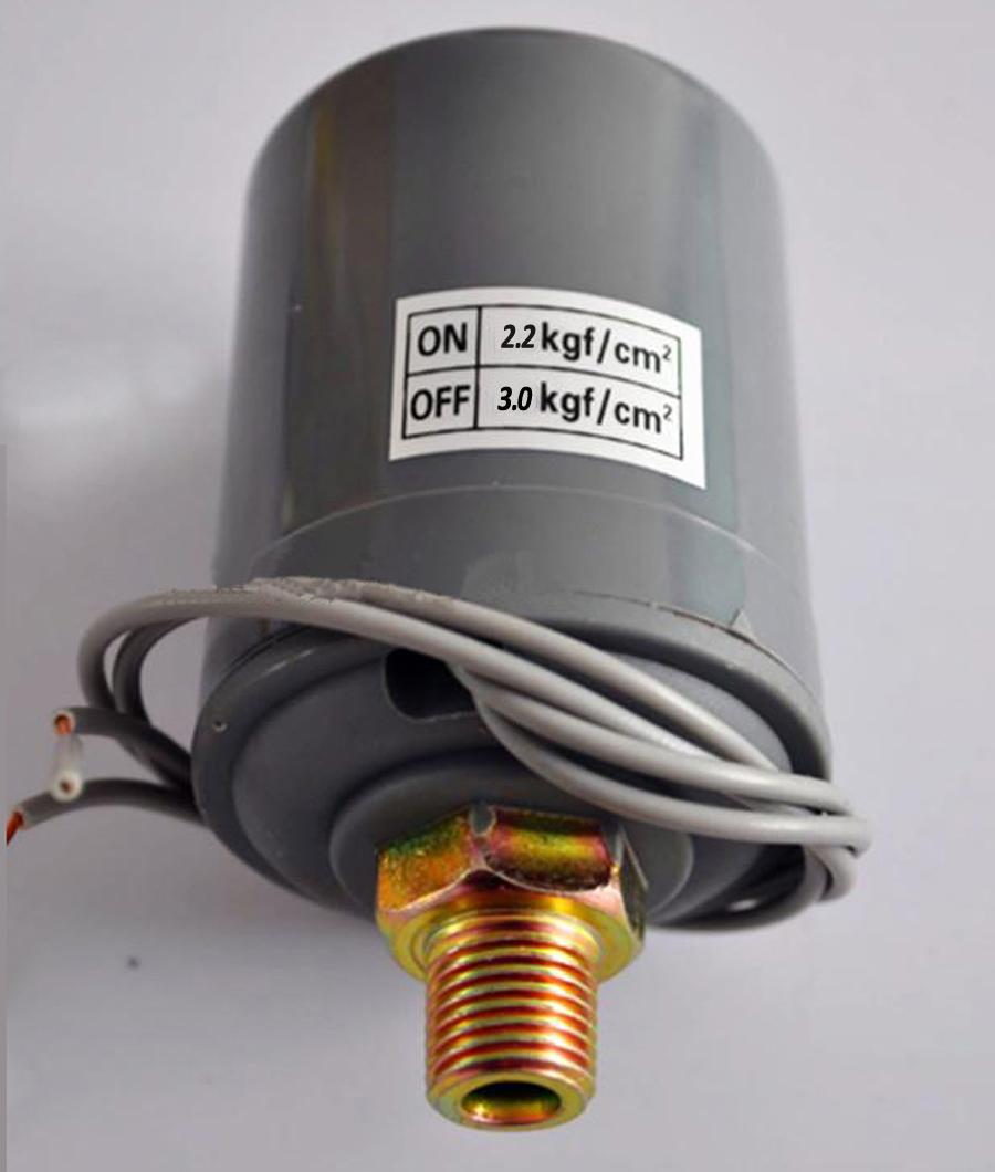 """220 V 2.2-3.0 kgf/cm2 G1/4 """"rosca macho controlador interruptor de pressão da bomba de água(China (Mainland))"""