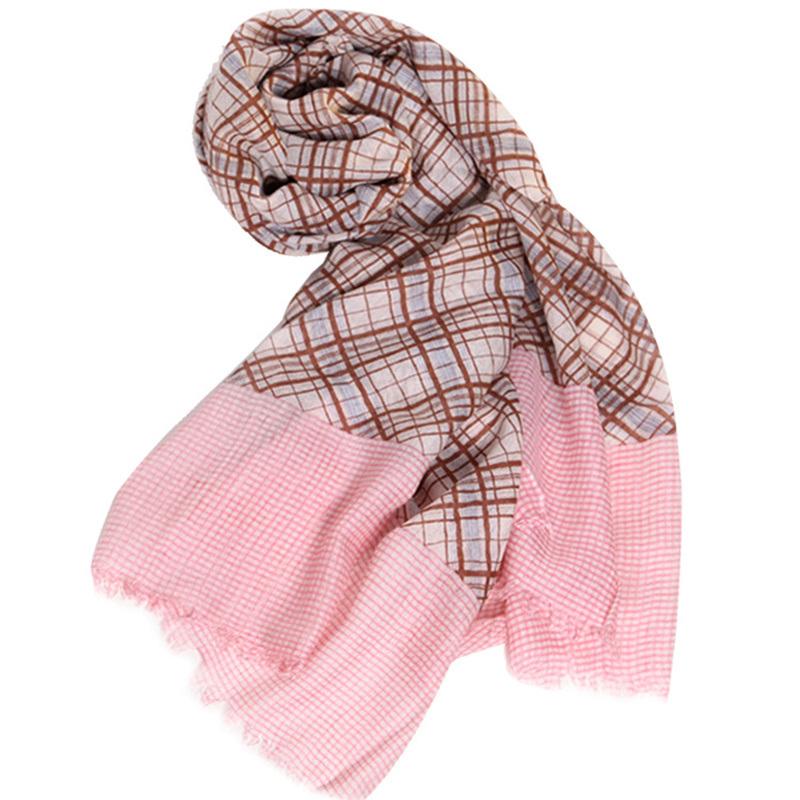 2017 Fashion Spring Summer Autumn Brand Wool Silk Cotton Shawl Four Colors Women Pashmina Free Shipping Soft Scarves(China (Mainland))