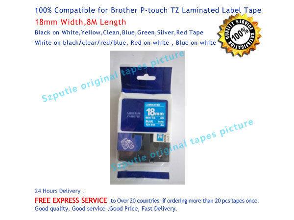 Лента для печатающего устройства OEM tz/545 p/touch 18 8m tz/e545 лента для печатающего устройства puty 18 tz tze tz se4 se4 se4 p touch pt 2430pc