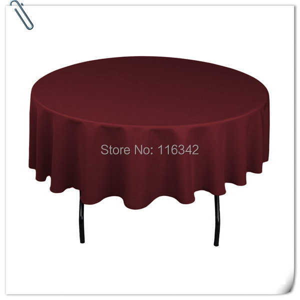 Здесь можно купить  Retail cheap!!!  plain burgundy  90inch 10pcs table cloth for weddings parties hotels restaurant  Free Shipping  Дом и Сад