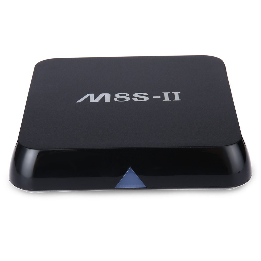 M8S-II Android TV Box M8S II Quad Core Dual band 2.4G/5G wifi Android 5.1 Amlogic S905 Chip 4K BT 4.0 2017 LAM 1000M Set Top Box(China (Mainland))