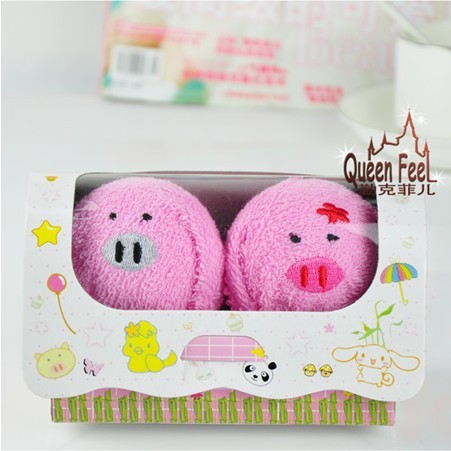 Valentine wedding supplies,birthday Christmas cake towel gift,animal lovers,pigs,(China (Mainland))