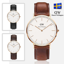 DW Watch Men Watches 2015 Luxury Mens leather nylon Strap Sports Military Quartz watch clock Relojes