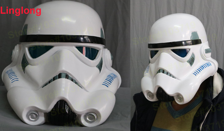 Linglong-5 PVC Wearable Star Wars Cosplay Prop Stormtrooper Helmet Cosplay Mask In Stock  Stormtrooper Wearable Mask Одежда и ак�е��уары<br><br><br>Aliexpress