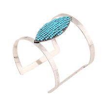 Buy 2016 Western Fashion Large Square Inlaid Oval Acrylic Simple Beautiful Bracelet Factory Direct Summer Ice for $3.64 in AliExpress store