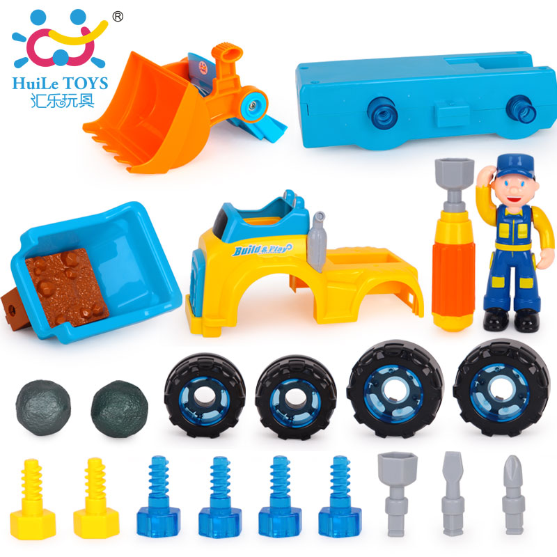 Kids Boys Children Truck Construction Vehicle Car Model Toys - Truck Engineering Vehicles Excavator Electric Toy Dump Truck Gift(China (Mainland))