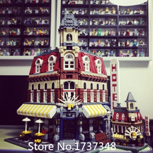 2016 LEPIN Creator series the Cafe Corner Model Building Blocks Classic Toys Mini figures Kid Gift Compatible With Legoe 10182(China (Mainland))