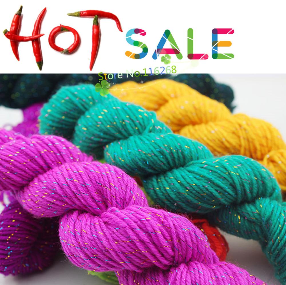 Knitting Yarn Fibers : Knitting crochet yarn to knit thread colorful silk