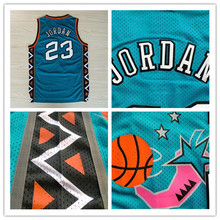 Michael Jordan 1996 All Star Jersey Chicago 23 green Throwback Basketball Jersey, Cheap Authentic stitched Jersey()