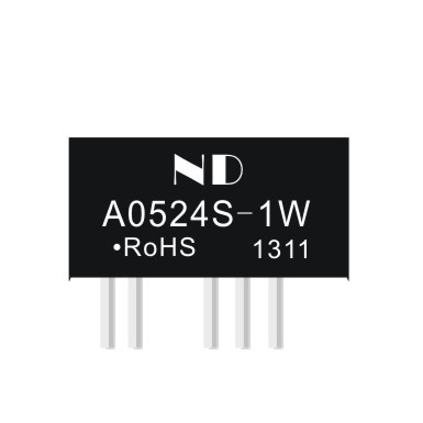 dc dc step up converters 5V to 24V dual output Isolated power module boost power supplies A0524S-1W quality goods(China (Mainland))