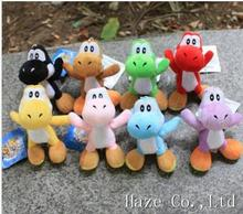 4″ Super Mario Bros Plush Doll Soft Figures YOSHI kid's Toy kid gifts