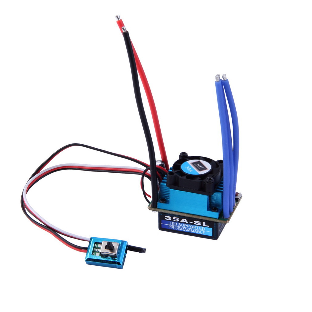 Free Shipping 35A ESC Brushless Electric Speed Controller for 1:12 1:10 for RC Car