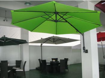 10ft Patio Wall Mounted Umbrella Parasol Sun Shade