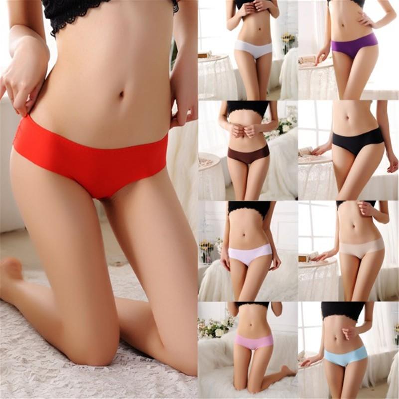 Sexy Women Lace Briefs Low Waist Lingerie Seamless Underwear Panties