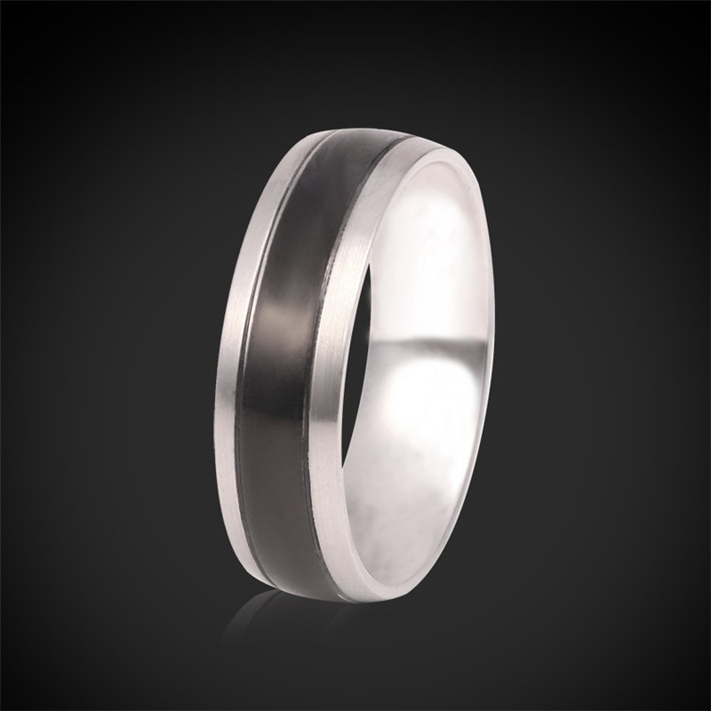 Rings For Men New Style Items Cool High Quality 316L Stainless Steel Jewelry With Gift Box Men's Cool Band Ring Brand R939(China (Mainland))