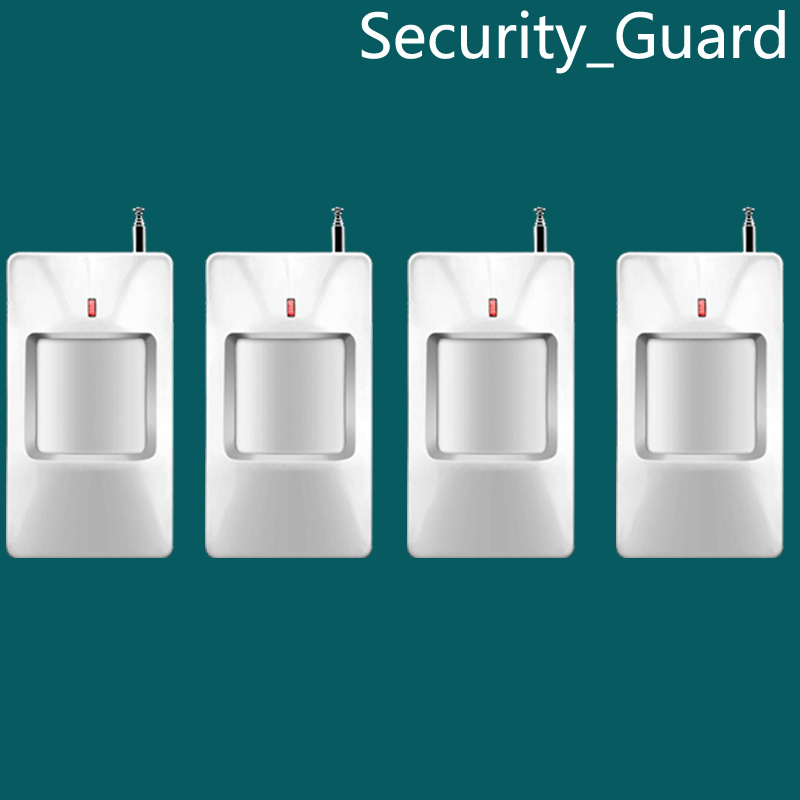 Free Shipping!Wireless PIR motion sensor cost for alarm system PIR Detector for home alarm home security system 433MHZ