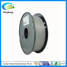 PLA 3D Printer thermosensitive Filament 1.75mm 3mm Color Changing Thermochromic grey to white for MakerBot/RepRap/UP/Mendel