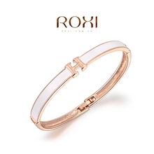 ROXI Bracelets & Bangles Bangle Fine Jewelry 18K Gold Filled For Women Bracelet Love Bracciali Donna Anchor(China (Mainland))