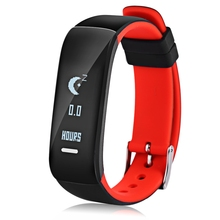 """Buy P1 Bluetooth Smartband Blood Pressure Monitor Heart Rate Monitor Wristband Waterproof IP67 Smart Bracelet Wearable Device 0.86"""" for $41.69 in AliExpress store"""