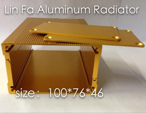 Aluminum Box/Adapter housing/Aluminum qualifying/76*46-100 Split aluminum/Car shell dedicated(China (Mainland))