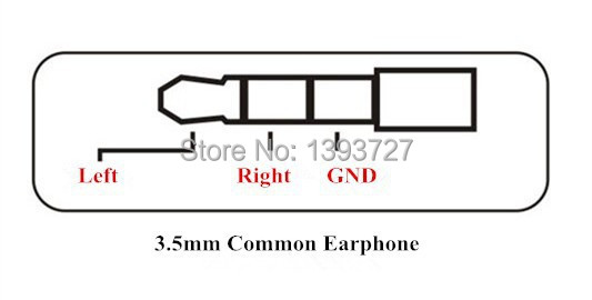 High Quality 4pcs lot 3 5 mm Audio Jack Gold plated Adapter Earphone plug For DIY