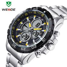 Weide-1103 Men ' s Casual y relojes de moda exterior 30 M impermeable Digital de los deportes reloj de cuarzo