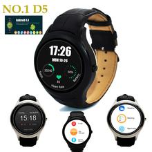 Новый горячий SmartWatch MTK6572 1.3 » 360 x 360 Android 4.4 512 МБ + встроенный 4 ГБ ROM SmartWatch с wi-fi Bluetooth сердечного ритма № 1 D5