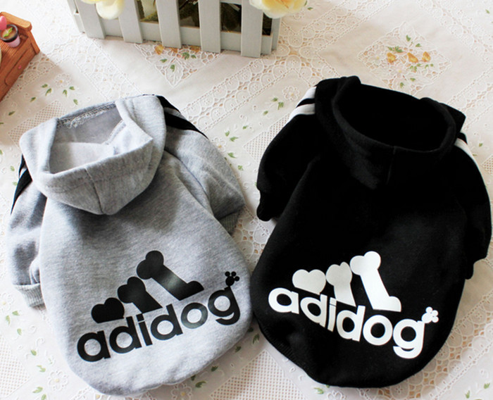 New Arrival Brand Adidogs Dog Clothes for 2014 Winter Autumn Clothing for Dogs Pets Pet Products Clothes for Chihuahua Teddy(China (Mainland))