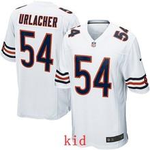 100% Elite men Chicago Bears WOMEN YOUTH KIDS HOT SALE NEW FAST SHIPPING 54 Brian Urlacher(China (Mainland))