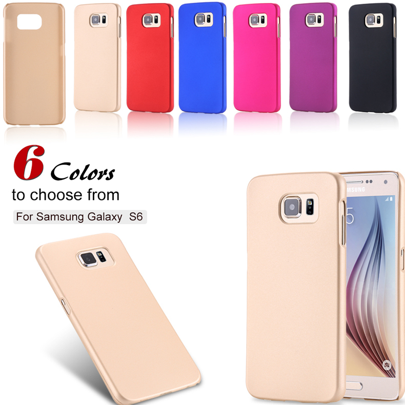 For Galaxy S6 Cases Electronic Accessories & Parts Matte Frosted PC Case For Samsung Galaxy S6 G9200 Super Slim Hard Phone Cover(China (Mainland))
