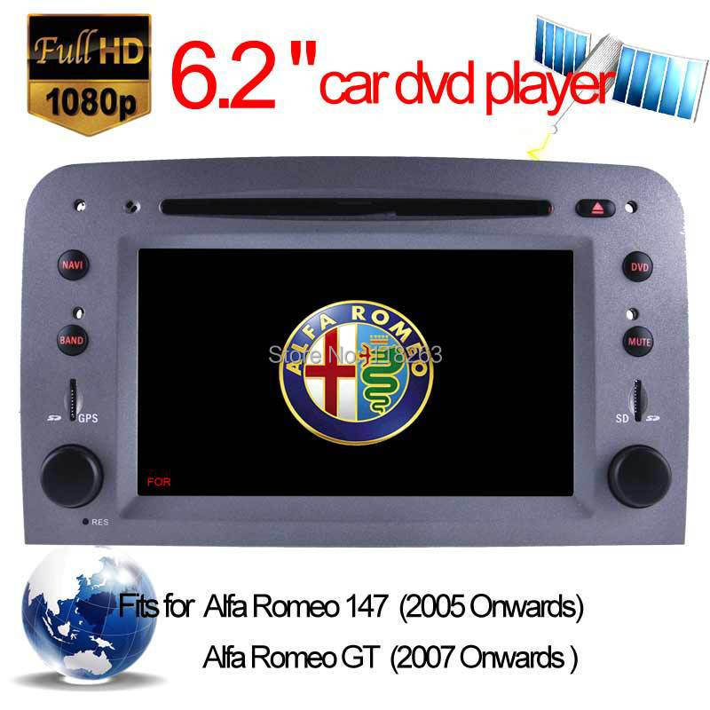 Car DVD Player Alfa Romeo 147 GT auto stereo GPS Navigation radio bluetooth MP4 TV SD card Stereo Tape Recorder - Hualingan Technology Co., Ltd store