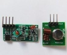 10pcs / lot 433M super-regenerative module burglar alarm wireless transmitter module Transmitter Receiver 1 pair(China (Mainland))