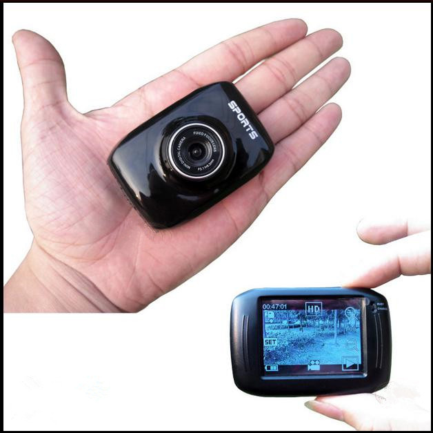 """New Y5000 HD 720P Smallest HD Waterproof Wireless Camera Mini DV Camcorder 2"""" Touch Screen Micro Cam(China (Mainland))"""