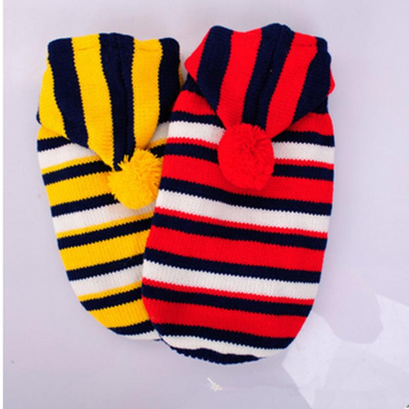 Fashion New British Style Pet Dogs Sweater Cat Plaid Knitwear Clothes Small/Meduim/Large Dog Warm Coat Clothing hoodie designs(China (Mainland))