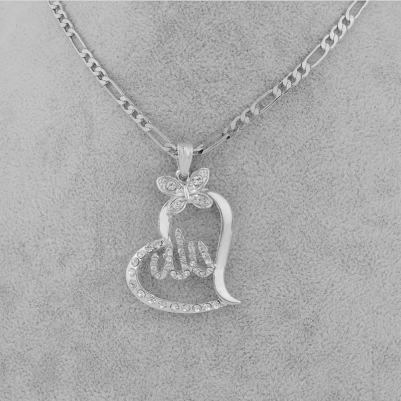 islamic necklace pendant charms allah jewelry