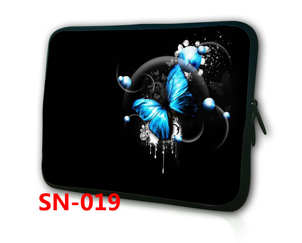 """1PCS Cute Butterfly 7'' Neoprene Soft Sleeve Bag Case Cover Pouch Waterproof For 7""""-8.2"""" Tablet PC Mini Ebook MID Free Shipping(China (Mainland))"""