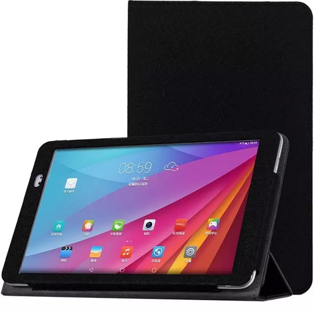 original New Huawei Honor T1-A21W PU leather case for Huawei Honor T1-A21W 9.6 inch tablet PC protector cover+stylus
