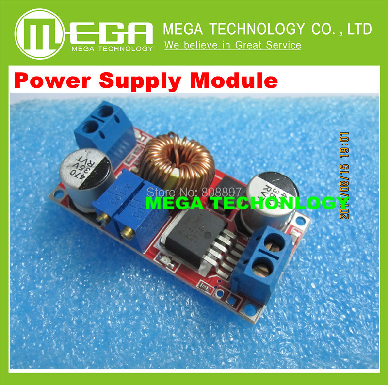 Non-Isolated Constant Current And Voltage Lithium Charger Power Supply Module 5A LED driver Integrated Circuits(China (Mainland))