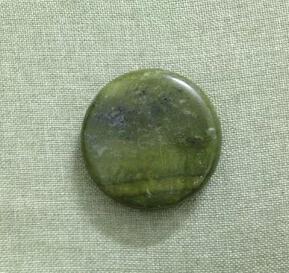 high quality natural green jade massage stone <br><br>Aliexpress
