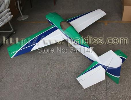Slick 540 50CC RC airplane model / gas engine / Carbon Fiber accessories RC Model Plane ARF(China (Mainland))