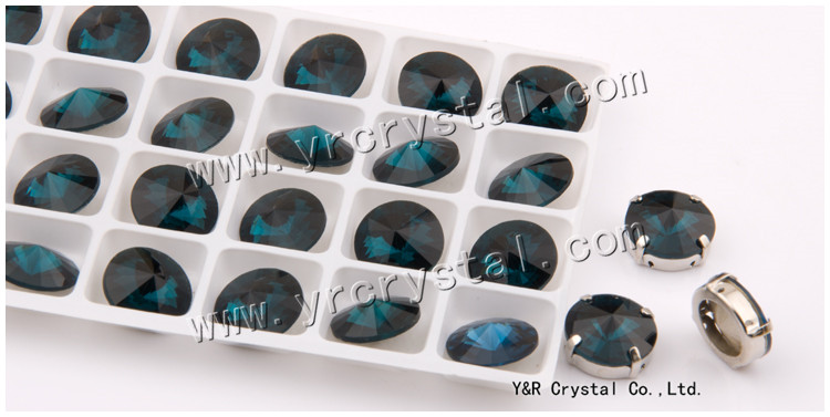 Montana Color Sew On Rivoli Crystal Fancy Stone With or with't Claw Setting 8mm 10mm 12mm 14mm 16mm 18mm(China (Mainland))