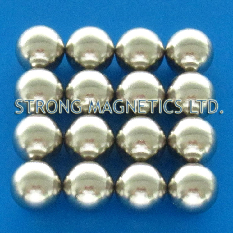 n35 d127mm magnetic ball pack sphere neodymium permanent magnets - Semi Permanent Coloration