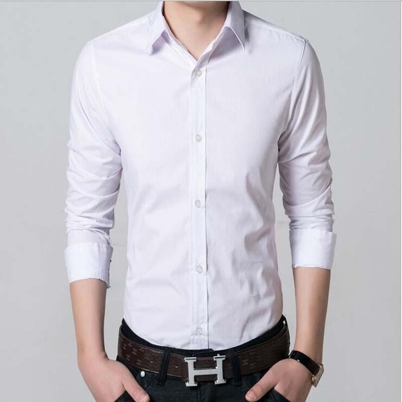 Popular collarless dress shirt buy cheap collarless dress for Men s collarless banded collar dress shirt